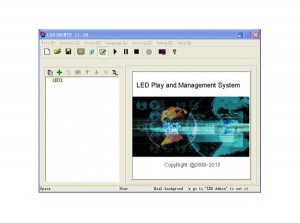 Colorlight LED Controller Card Software