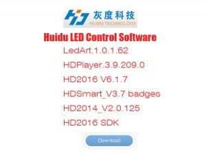 Huidu LED Control Card Software Free Download