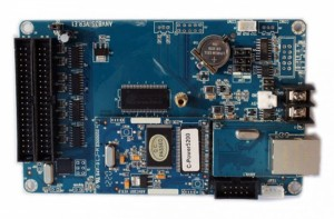 Lumen C-Power5200 Full Color LED Card with GPRS Module